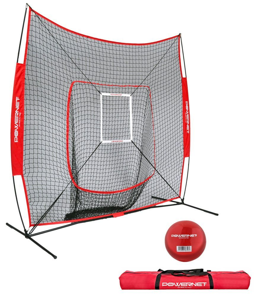 buy powernet dlx baseball net 7x7 at athletic sales unlimited for