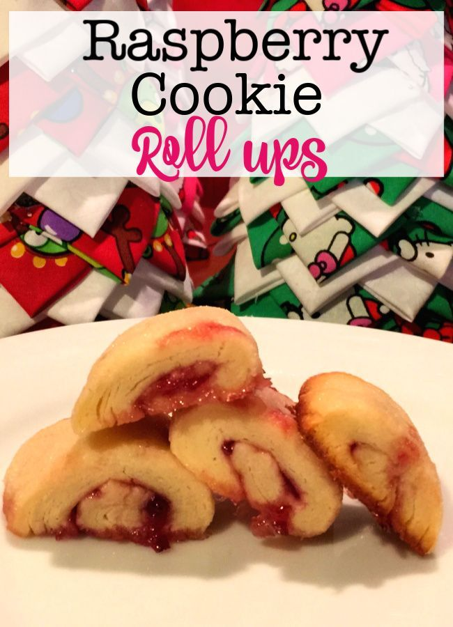 Raspberry Cookie Roll-Ups Baking with the kids is a great thing to do -especially with a holiday treat that is sweet, sticky, and fun to make together- like these raspberry cookie roll ups!  via @sharonmomof6