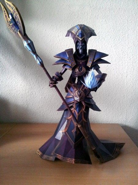 The Lich – Papercraft by Destro2K