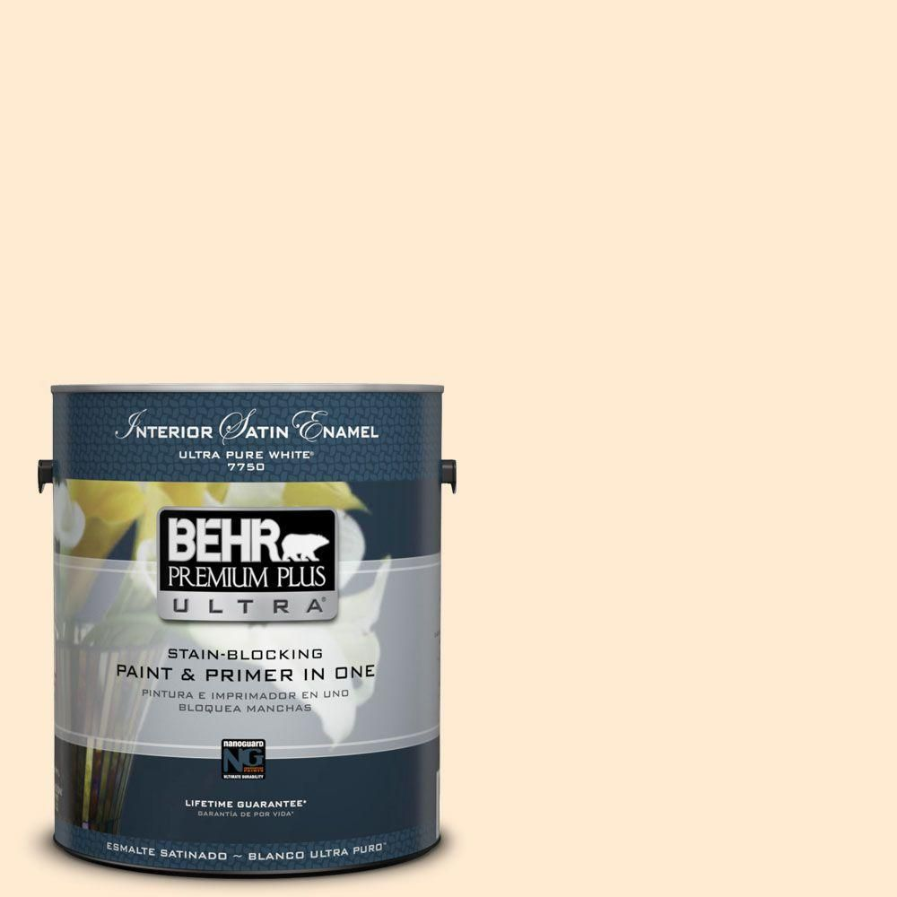 BEHR Premium Plus Ultra 1-gal. #290A-2 Country Lane Satin Enamel Interior Paint