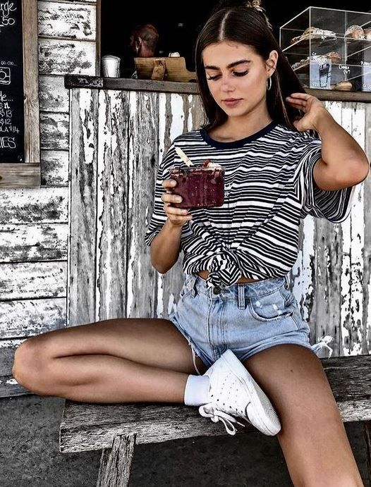 Photo of cute summer street style outfits! #vintage #streetstyle #summerstreetstyle #fitn…
