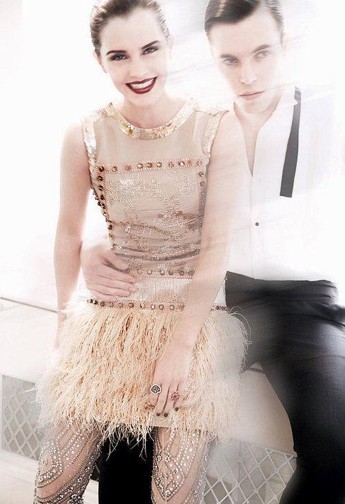 coco-is-haute:    c-a-n-d-y—k-i-s-s-e-s:    CANDY KISSES:  Emma Watson for Vogue US July 2011