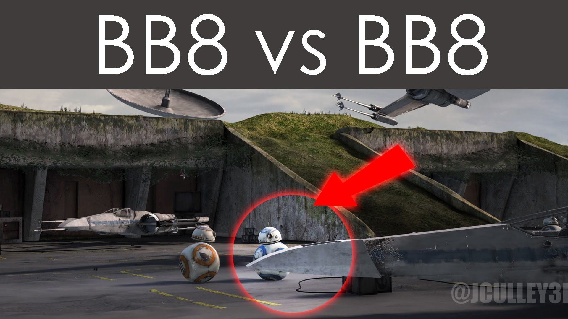 Bb8 Vs Bb8 Resistance Base On D Qar Star Wars The