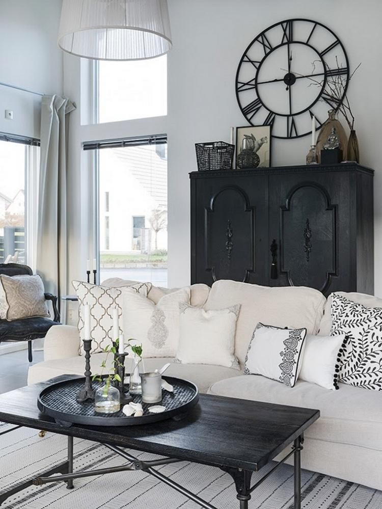 60 best black and cream living room design ideas  page