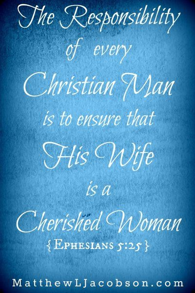 A christian husband