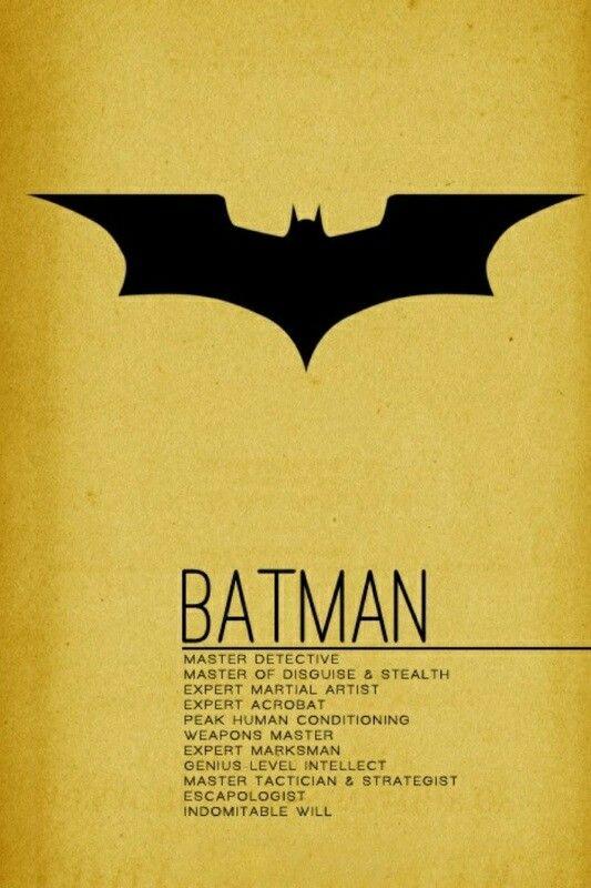 batman character traits