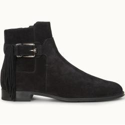 Tods  Ankle Boots aus Veloursleder Schwarz 37.5  Shoes Tods#fashionshoot #fashioninsta #fashiontrend #fashionworld #weddingband #weddingdiaries #weddingcard #weddingguest #weddingjakarta #nailsofig #nailblogger #housedesign #nailsdid