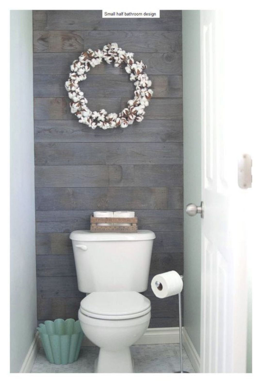 17 Awesome Small Bathroom Decorating Ideas With Images Half Bath Remodel Small Half Bathrooms Guest Bathroom Design