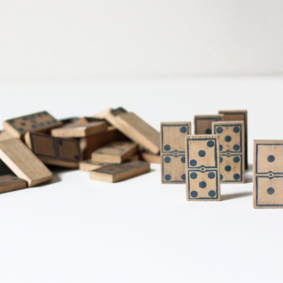 Antique Wood Domino Dominos And Dice How To Antique Wood Wood