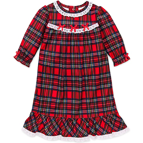 9e080983acc2 Little Me® Plaid Gown in Red