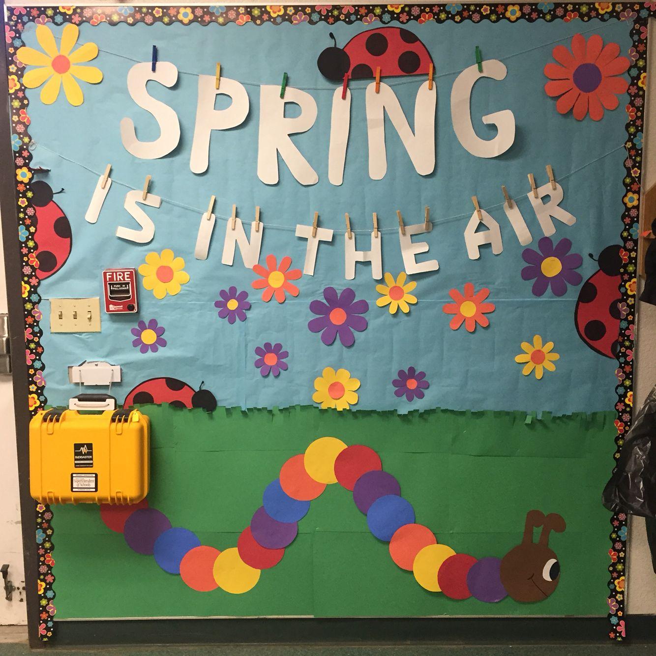 Spring Classroom Decor Classroom Wall Classroom Door Spring Classroom Spring Wall Decor Classroom Walls