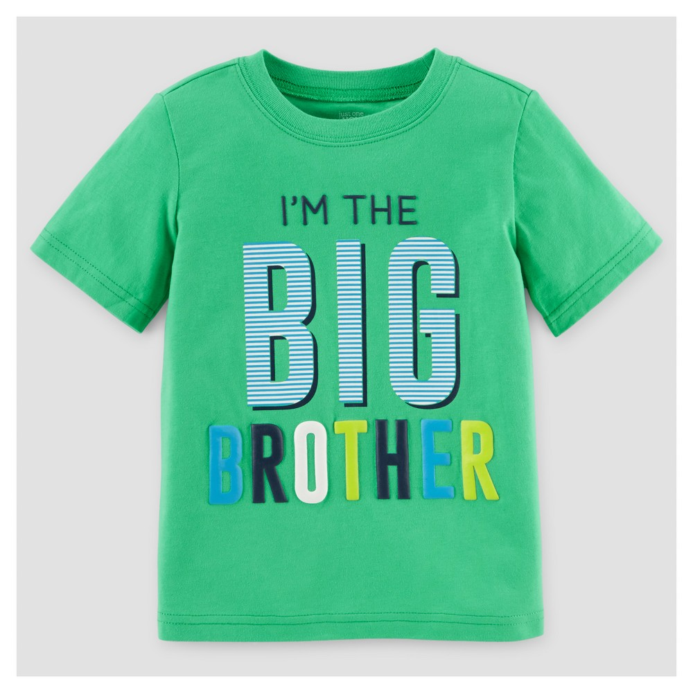 Just One You Made By Carters Toddler Boys Big Brother T Shirt