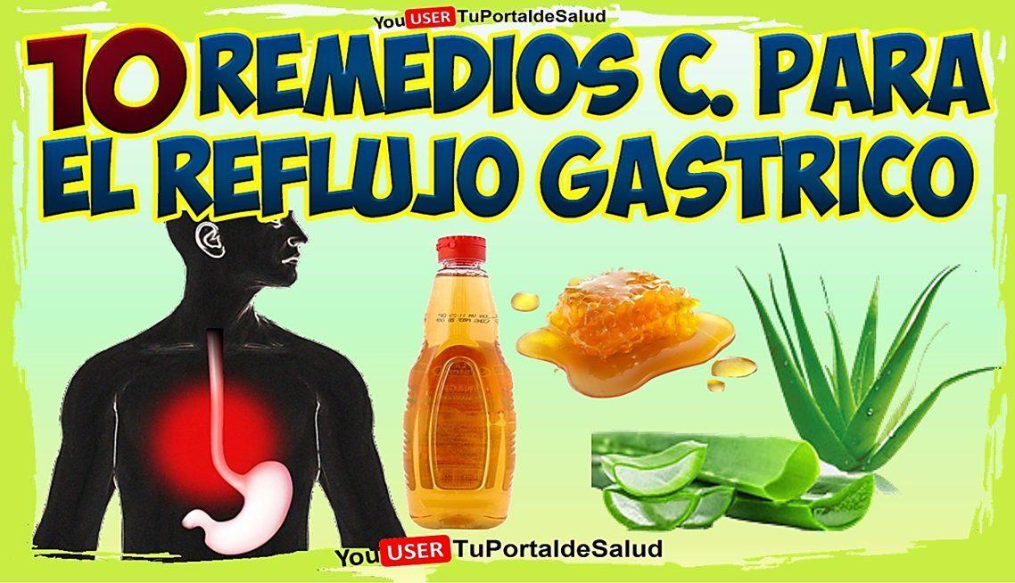 Recetas caseras para reflujo gastroesofagico