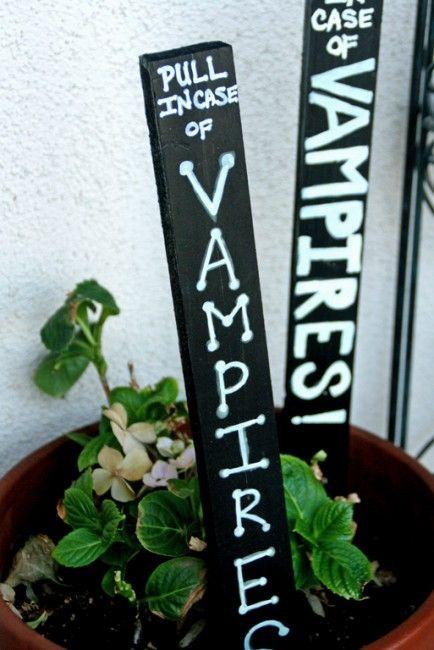 Vampire Stake Halloween Decoration #vampires #decor #decorations - halloween decoration kids