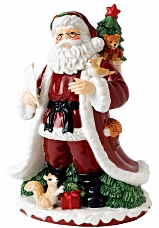 Johnson Brothers Twas The Night Before Christmas Santa Figurine 10 New In Box The Night Before Christmas Twas The Night Santa Figurines