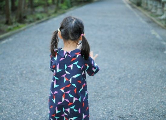 Photo of Origami Dress by Shino of Nutta | Project | Sewing / Dresses | Kids & Baby | Kollabora