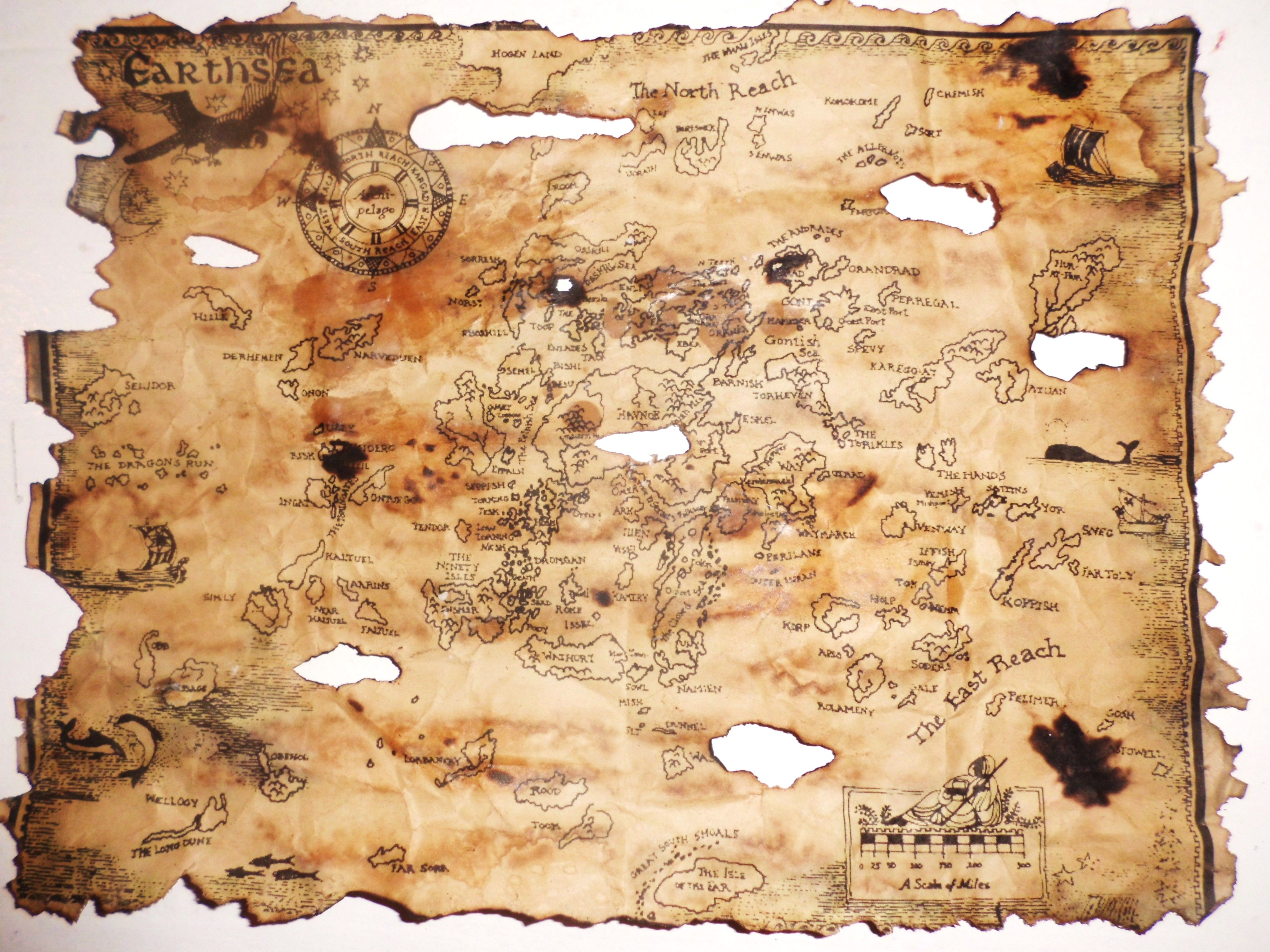 aged pirate map print approx  x  printed on regular paper aged withdifferent. aged pirate map print approx  x  printed on regular paper aged