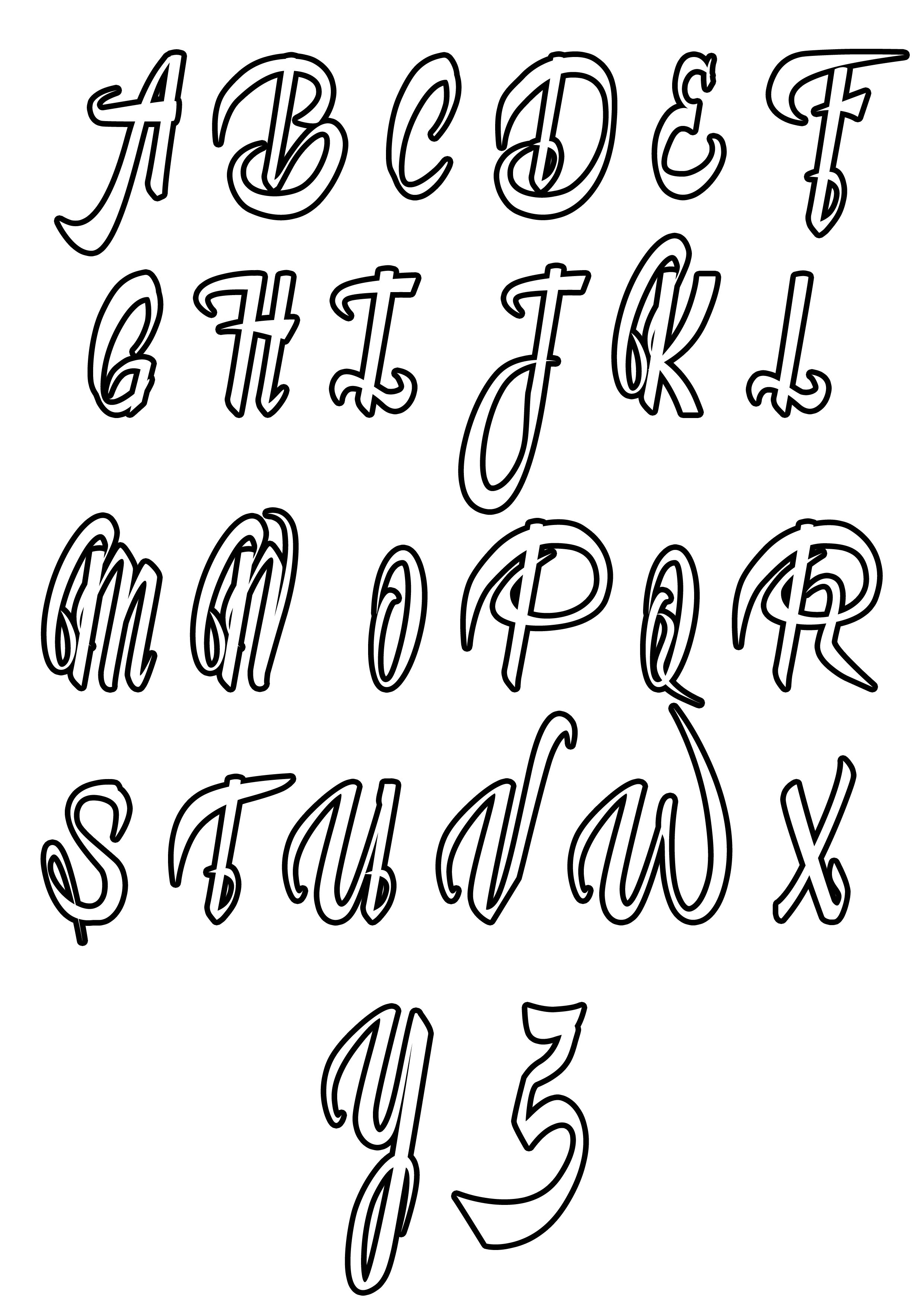 Coloring Page Simple Alphabet 4 From The Gallery Kids