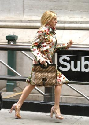 Image result for carrie bradshaw subway