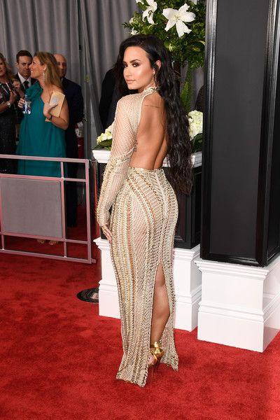 Demi Lovato Photos Photos The 59th Grammy Awards Arrivals Demi Lovato Body Demi Lovato Pictures Demi