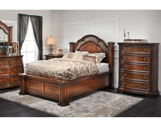 Old World meets today with the Torreon Storage Bed.   SLEEPING ...