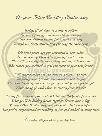 Anniversary Poems 40th Wedding Funny Pictures Kootation Com25th