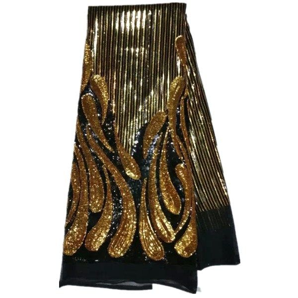 new arrival free shipping high quality african cord lace fabrics with real leather for women fancy dress 2015