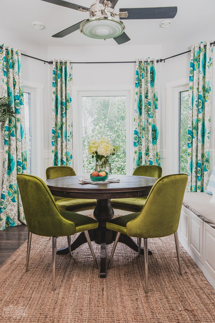 Prime How To Mix Decor Styles A Velvety Breakfast Nook Update Ibusinesslaw Wood Chair Design Ideas Ibusinesslaworg