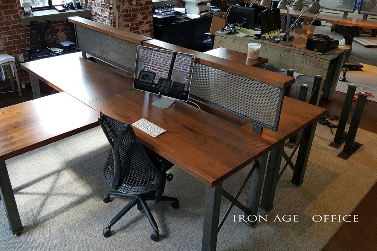 Bastille Workstation industrial office furniture