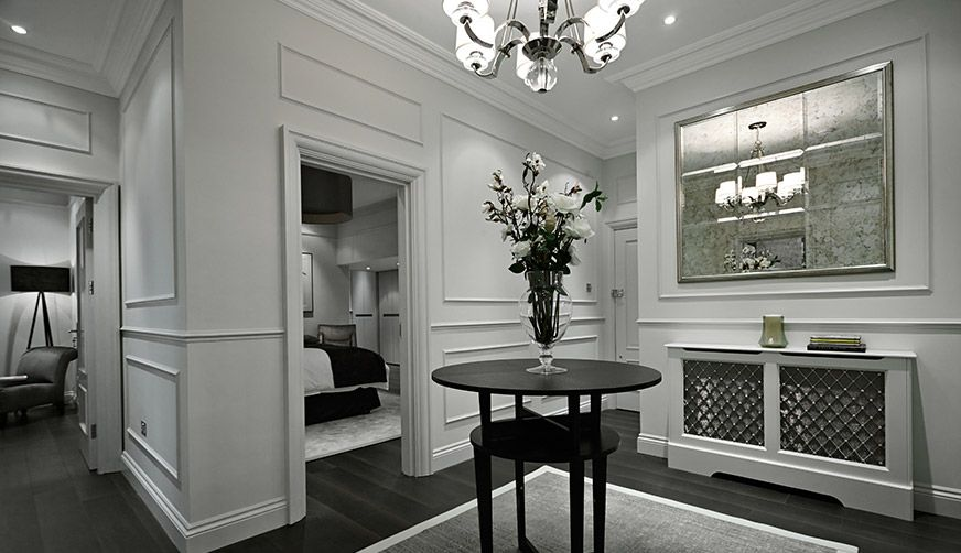 Renovation london examples interior design work london for High end interior designers london