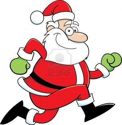 Run With Santa 5k Spring Hill Ks Running Cartoon Cartoon