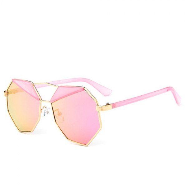 c4c33b655b6 Chic Triangle Irregular Rim Cool Sunglasses For Women in 2019