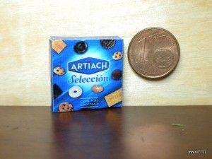 Imprimibles de cajas de galletas en miniatura