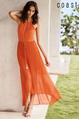 Buy Orange Coast Mauritus Pleated Maxi Dress online today at Next  Greece c9336efe1