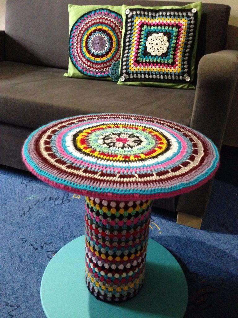 tisch aus einer kabeltrommel eigene werke pinterest. Black Bedroom Furniture Sets. Home Design Ideas