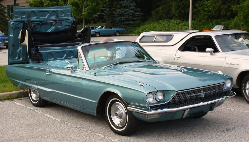 1966 Thunderbird Convertible Thelma Louise Ford Thunderbird Hot Cars Dream Cars