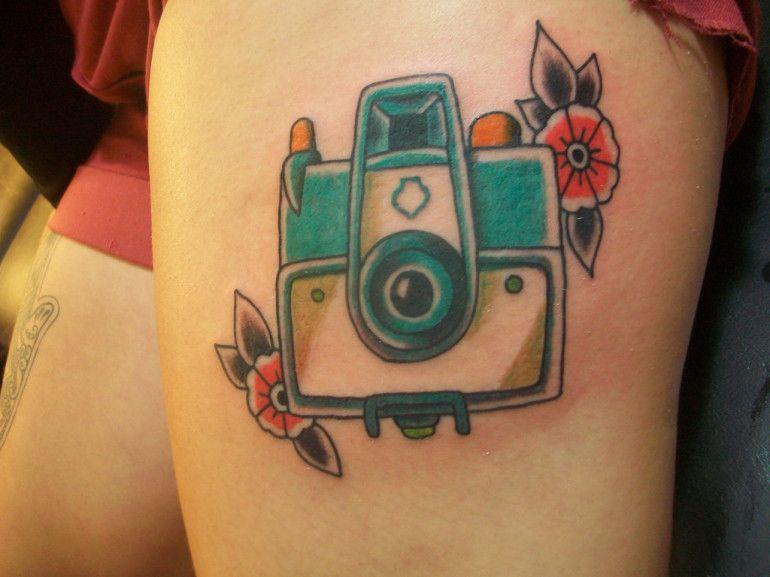 Polaroid Camera Tatspiration Camera Tattoo Polaroid Camera Tattoos