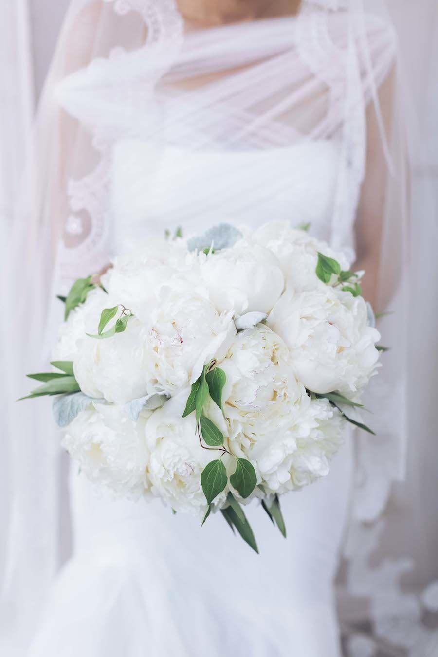 Whimsical white bouquet: http://www.stylemepretty.com/2015/04/08/classic-ballroom-wedding/ | Photography: Sarah Kate - sarahkatephoto.com/