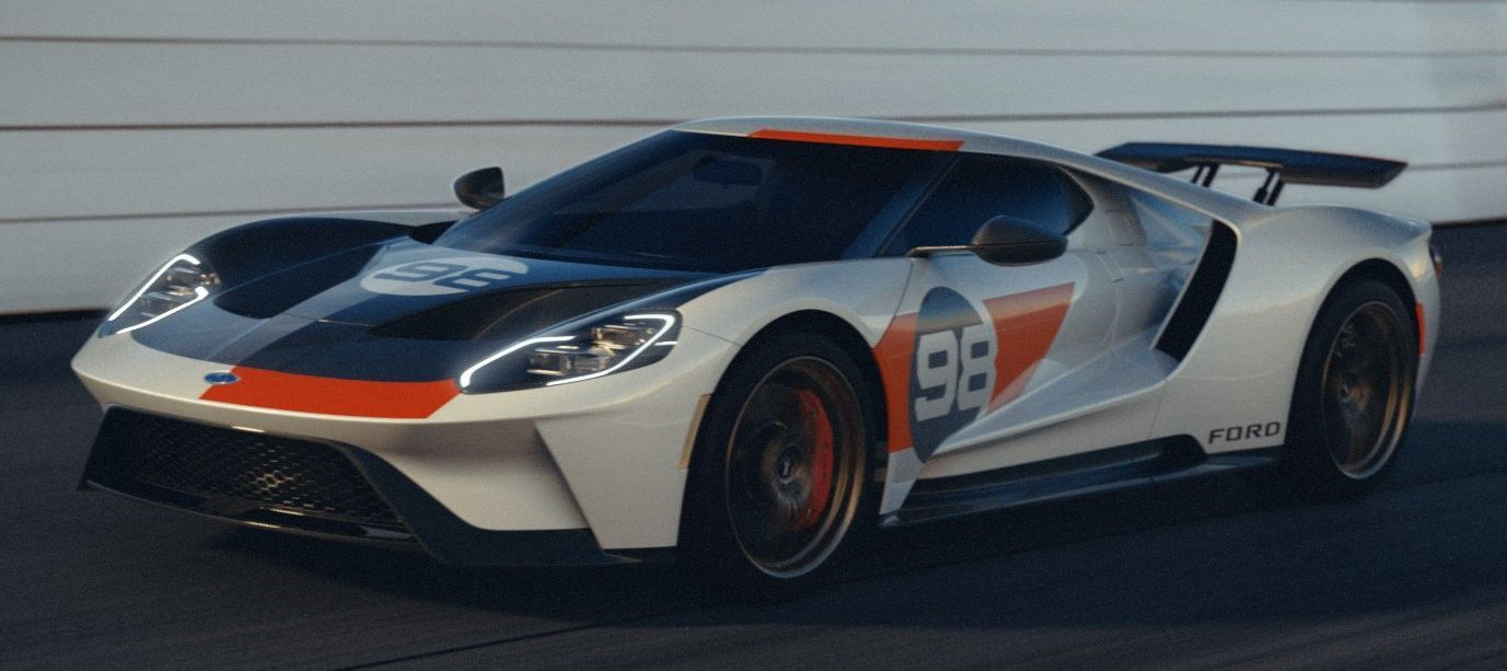 2021 Ford GT Heritage Edition in 2020 Ford gt, Ford