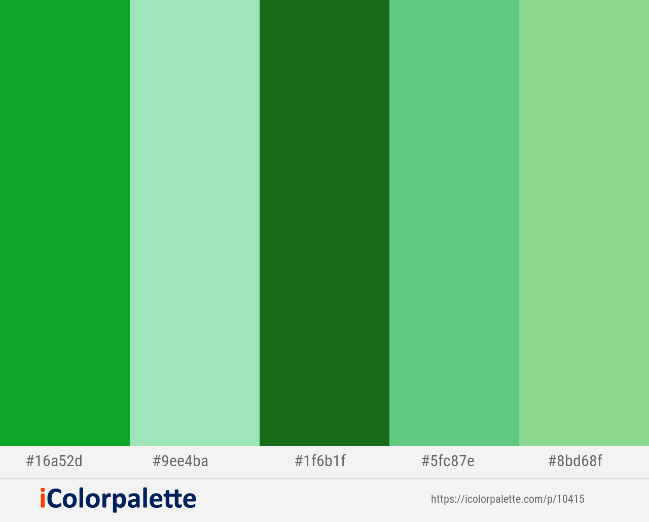 La Palma Algae Green Forest Green Emerald Feijoa Color Scheme Icolorpalette In 2020 Green Colour Palette Yellow Colour Scheme Green Colors