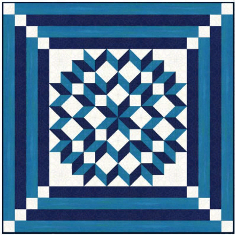 Quilt Pattern Double Carpenters Star Multiple Sizes Pdf Etsy In 2021 Star Quilt Patterns Barn Quilt Patterns Cross Quilt