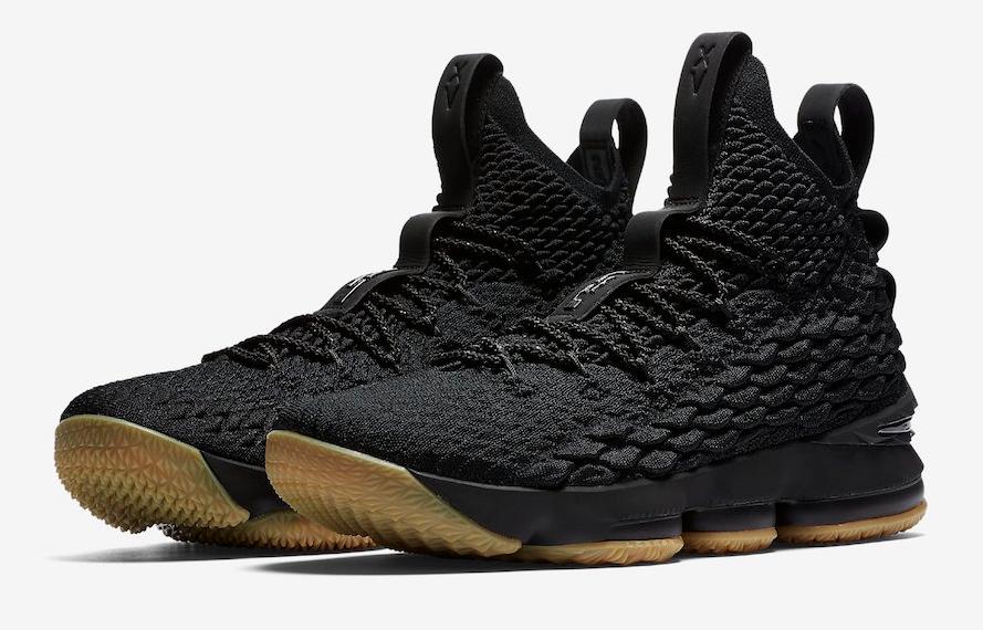 c30ed1dd95ba9 Release Date  Nike LeBron 15 Black Gum