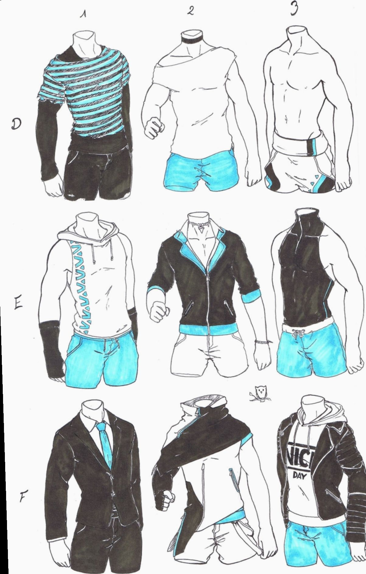 Anime Outfits Male Posts Bokunoheroacademia Katsuki Bakugoucosplay Drawing Clothes Art Sketches Character Design