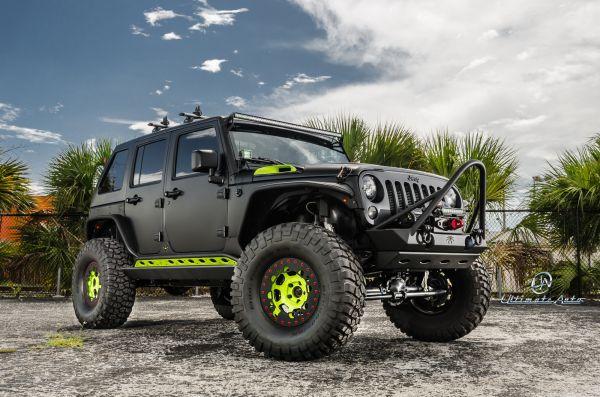 aux lighting jeep wrangler  Google Search  trucks  Pinterest