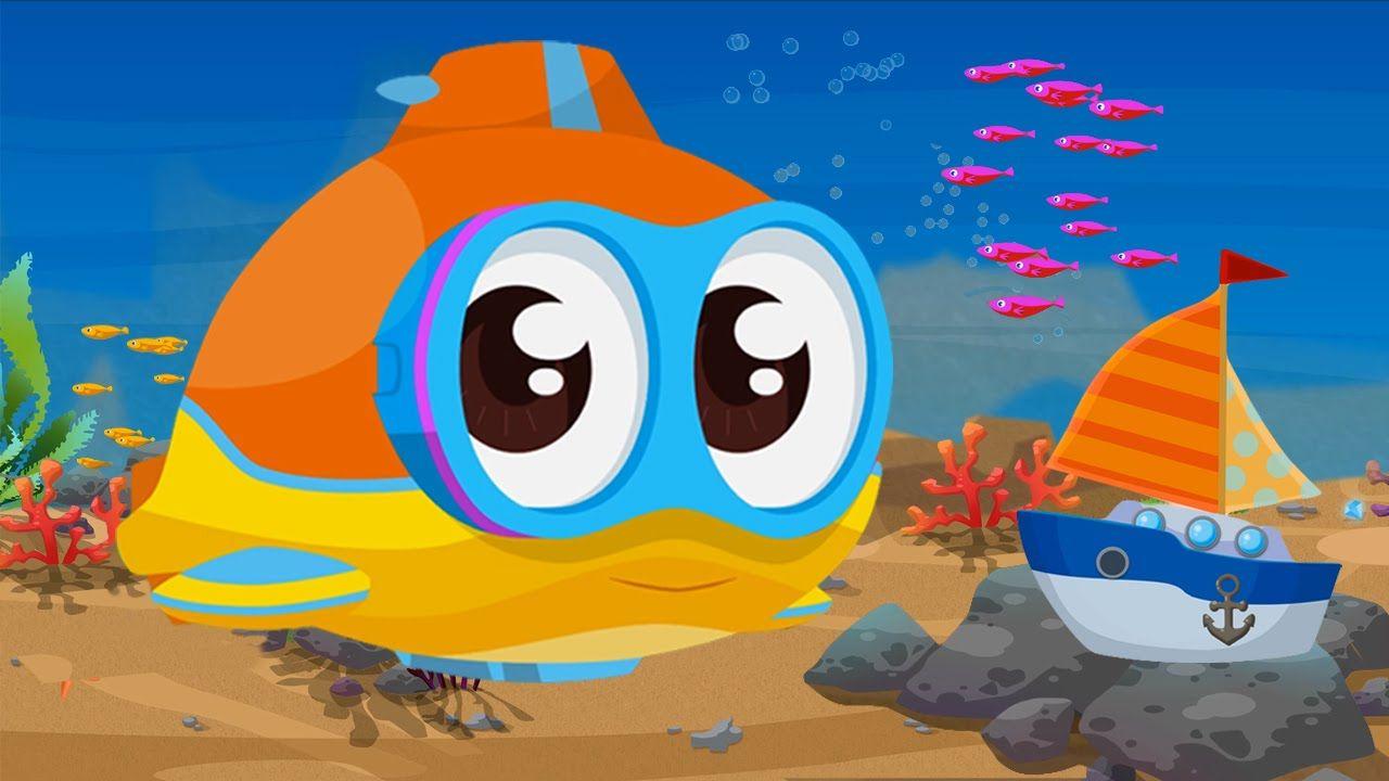 Cartoni animati per bambini oscar il sottomarino e la barca