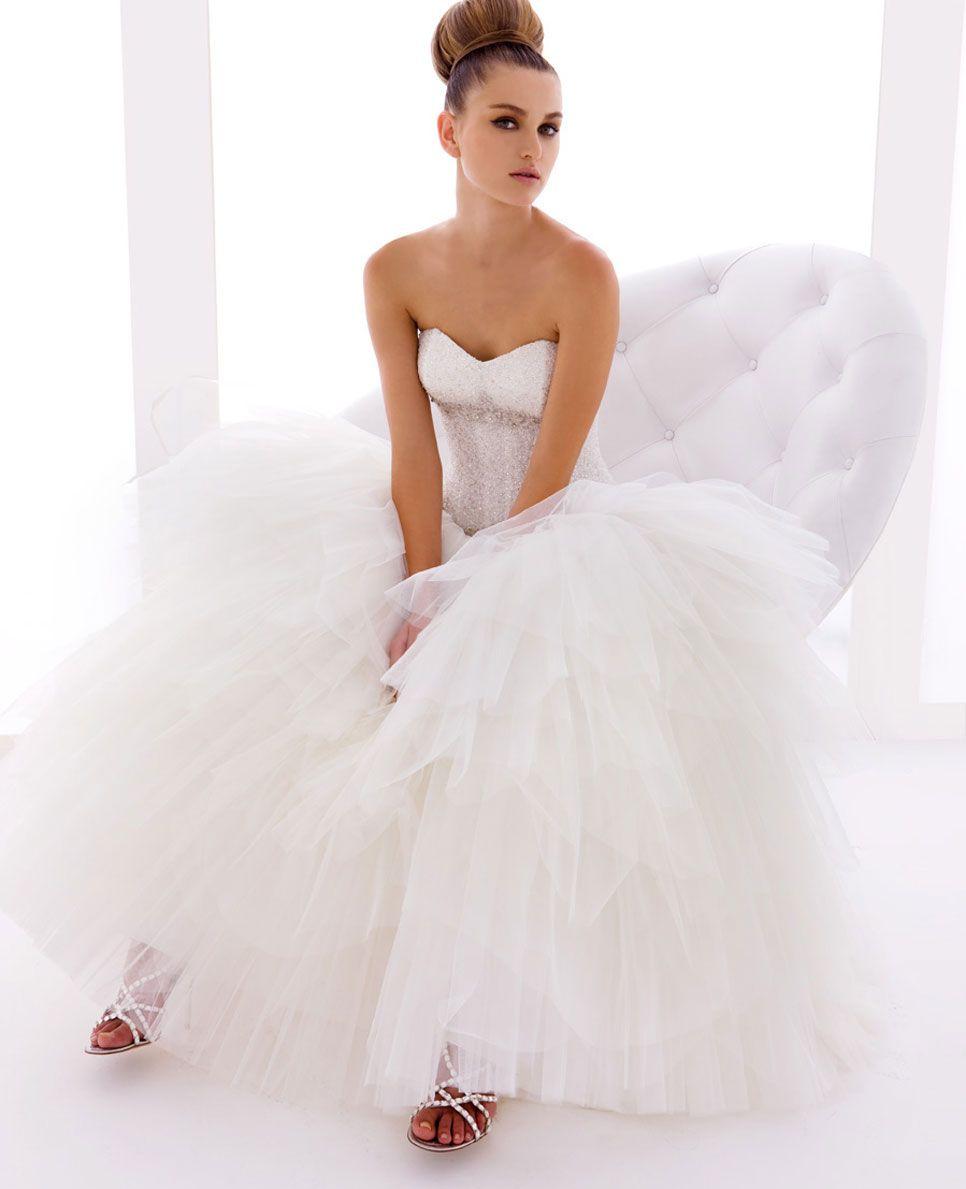 Abiti da sposa glamour roma gloria saccucci spose wedding
