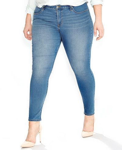 Super skinny jeans for plus size