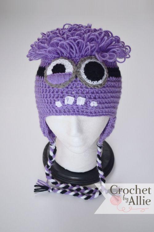 Purple Minion   Crochet   Pinterest