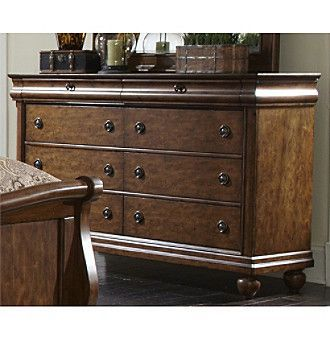 Liberty Furniture Rustic Traditions Cherry Dresser