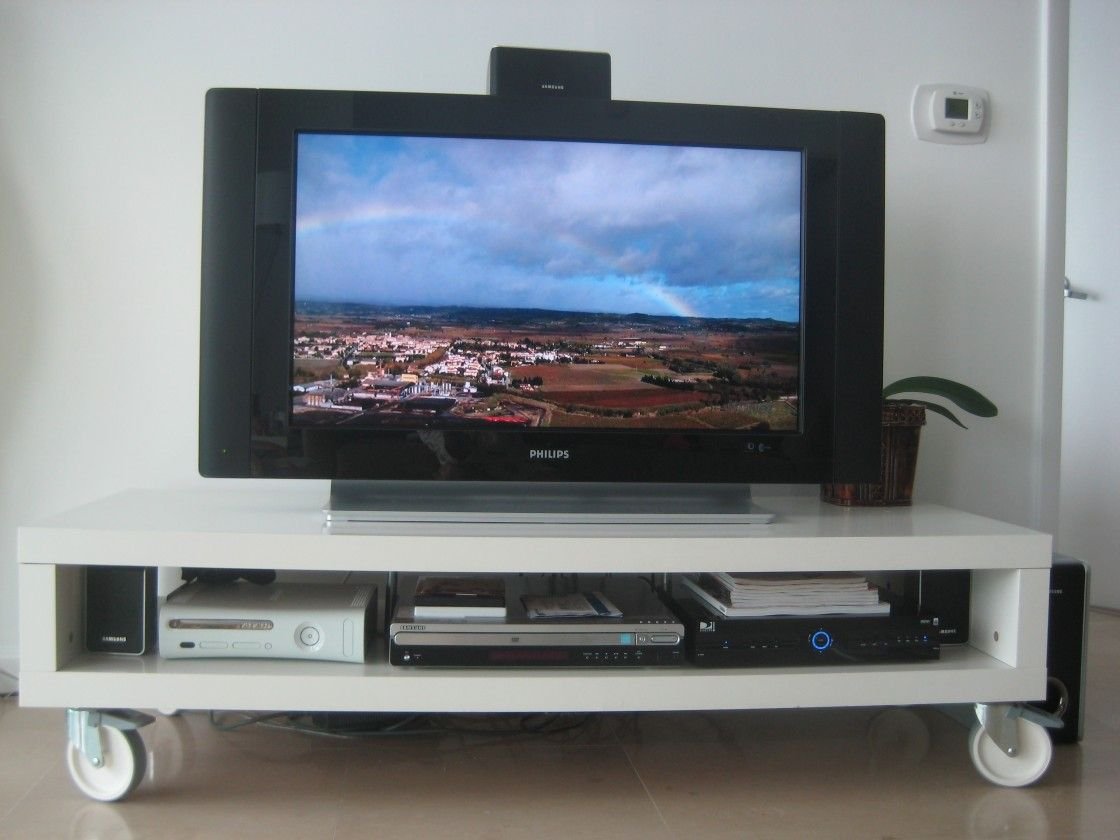 Furniture Awesome Diy Tv Stand Designs With White Tv Stand With Wheels Tv Stand On Wheels Diy Tv Stand Tv Stand Designs